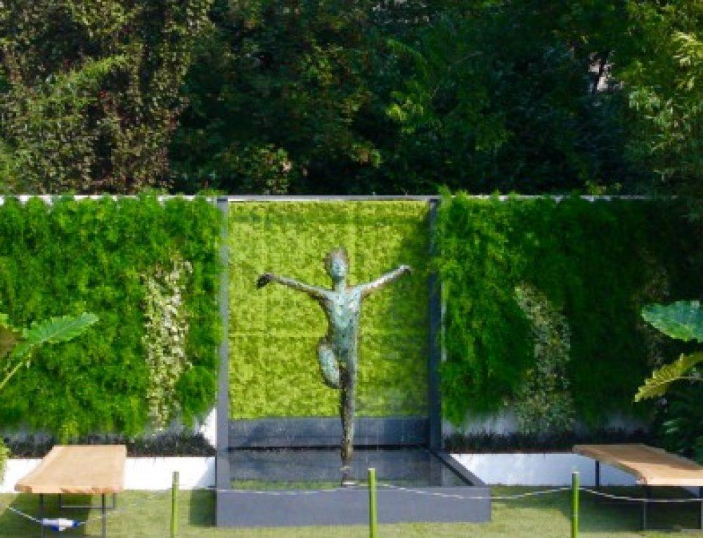 Ecco le prime immagini del giardino Disconnect to Reconnect by Verde Passione…pronti a staccare la spina?!